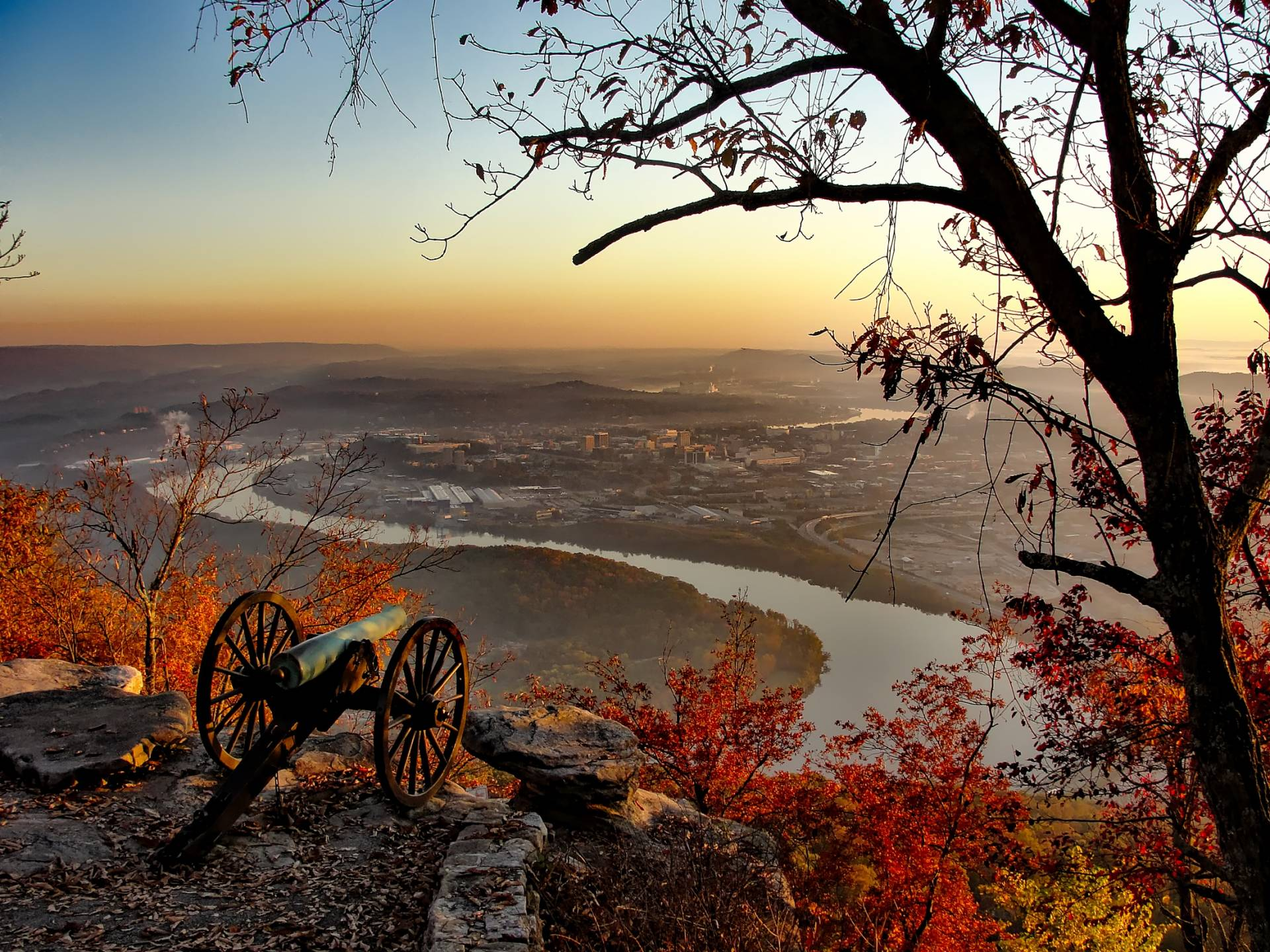 chattanooga tennessee with cannon
