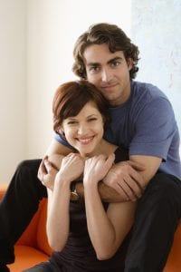 Mobile Home Insurance Happy Couple