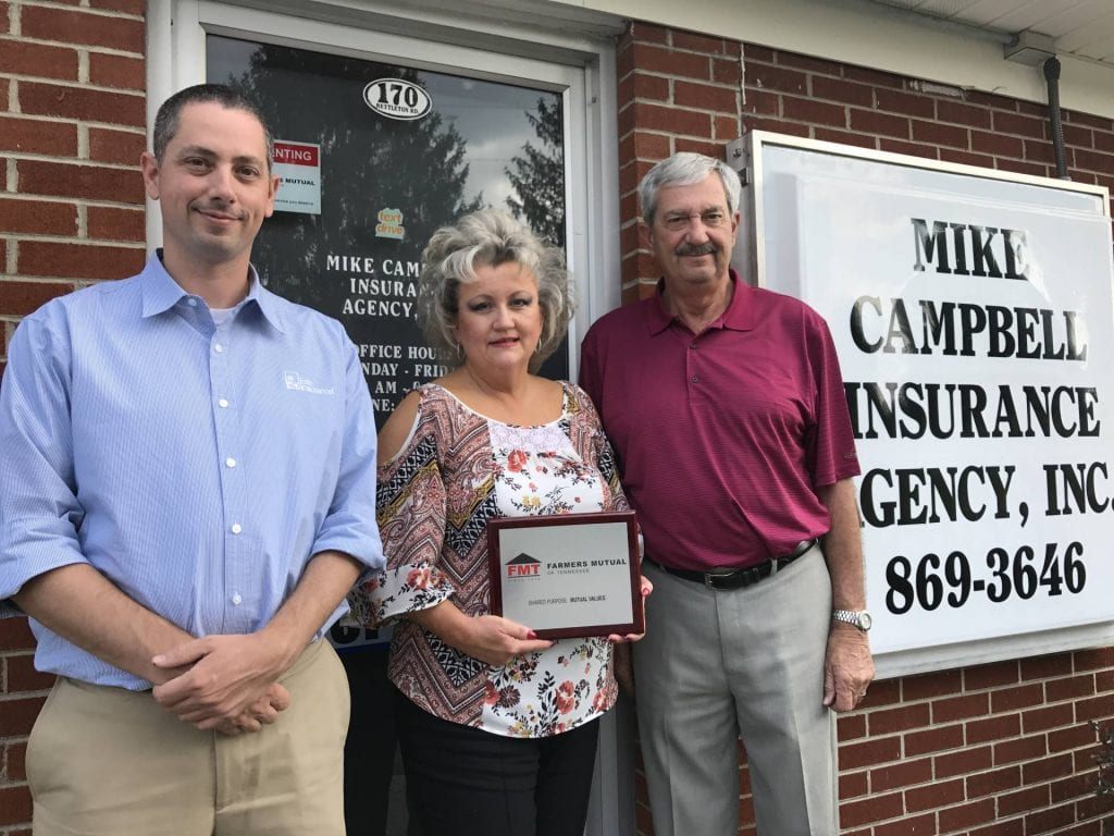 Mike Campbell Insurance Agency Recognized for Insurance Excellence